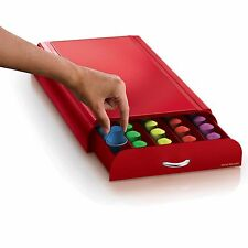 Nespresso® Coffee Capsule Drawer in Red (50 Pod Capacity)