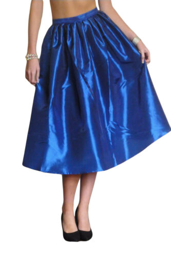 Womens Flared Skirt Rockabilly 50/'s Swing Size 10 12 14 16