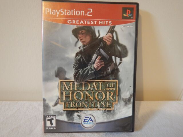 Medal of Honor: Frontline. Greatest Hits. (Sony PlayStation 2, 2002)