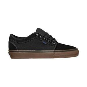 7be212caee99b0 Vans CHUKKA LOW Black Gum Blue Skateboarding Discounted (472) Men s ...