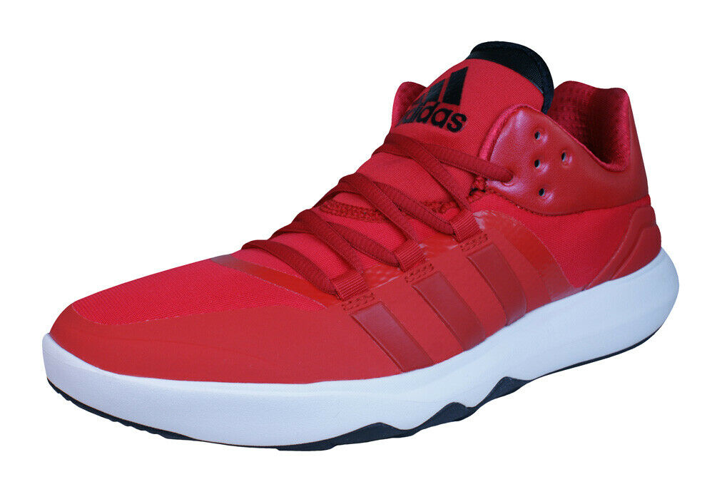 Adidas GT Adan TR Mens Fitness Sneakers Mid Top Gym Fitness shoes Red
