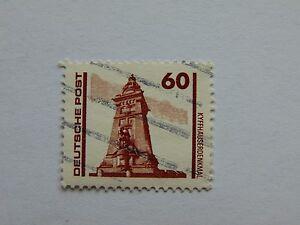 DDR 60 Pfennig(.) Freimarke 1990 mit Plattenfehler Mi 3347 II