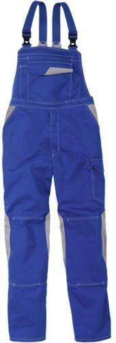 Kübler Latzhose Arbeitshose Schutzhose Berufshose  kornblau//mittelgrau Gr.50