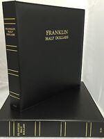 Caps Album Franklin Half Dollar W/proofs 1948-1963 For Air-tite Capsules 2131