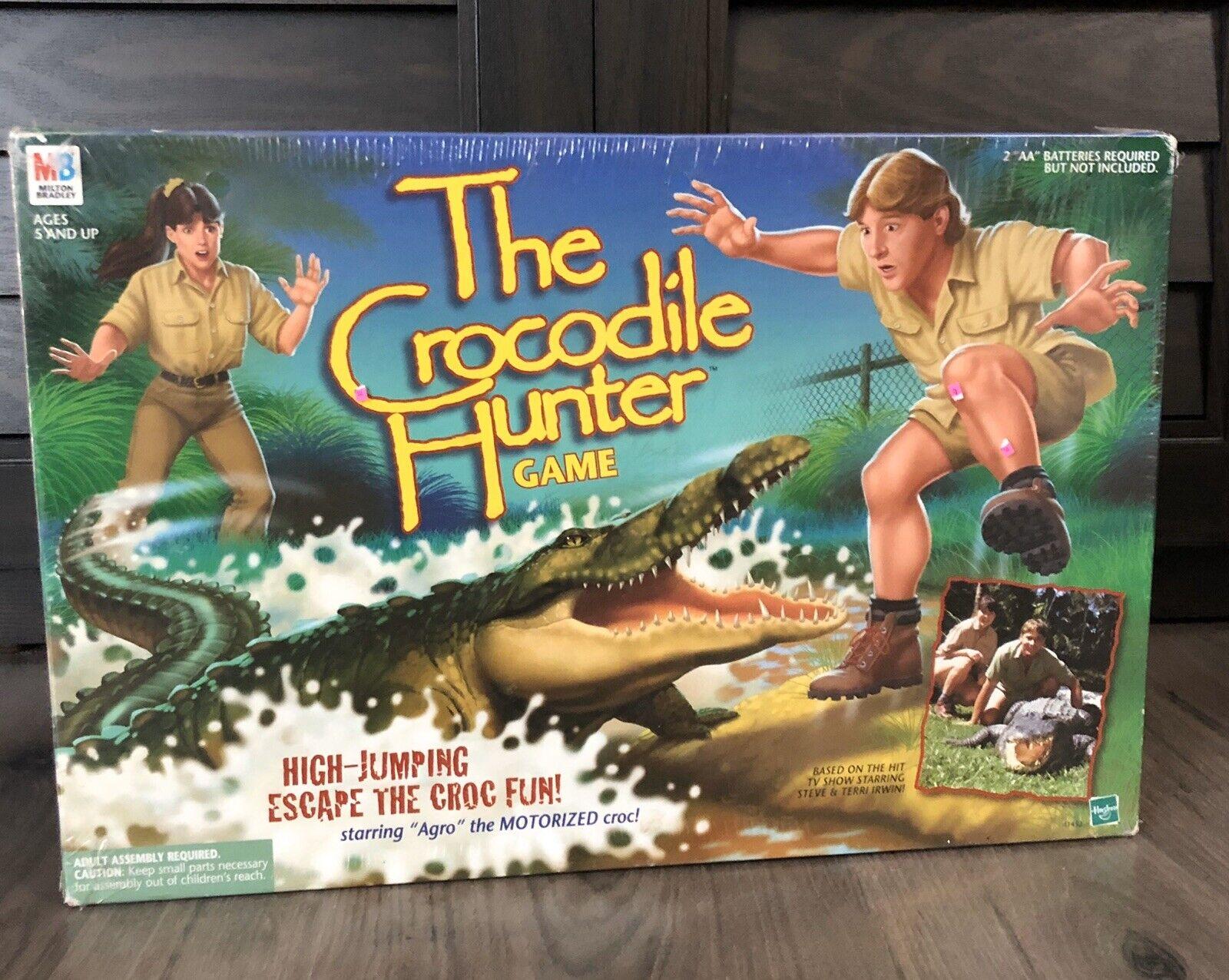 Sealed The Crocodile Hunter Game Steve Irwin Board Game Vintage 1999 NIB New