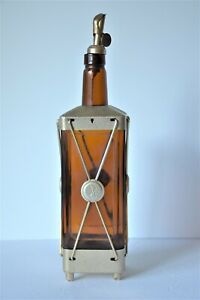 Vintage Swiss Harmony Inc. Whiskey Decanter Bottle D1