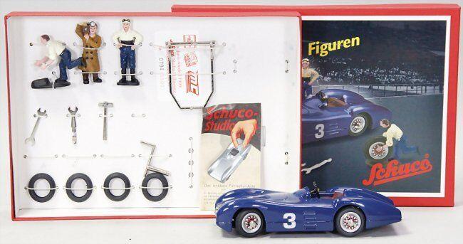 Schuco Studio III Kit avec personnages modèle de collection Mercedes 01641 limitée