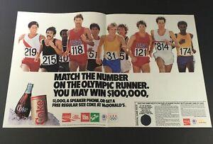 VTG-Retro-1989-Coca-Cola-Diet-Coke-Sprite-FREE-Coke-McDonald-039-s-Print-Ad-Coupon