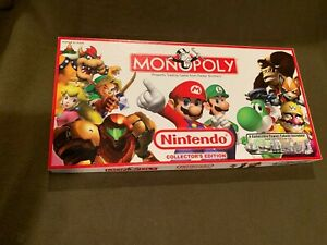 Nintendo-Collector-039-s-Edition-Monopoly-Family-Board-Game-Parker-Brothers-2006