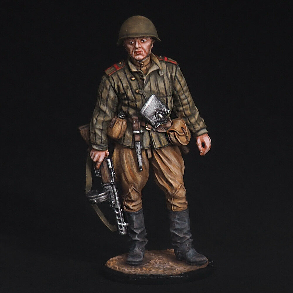 Tin Soldier, Senior Sergeant of the Red Army infantry, 1943-45, WW2 54 mm