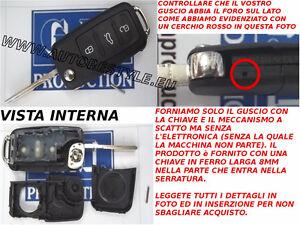 Chiave-COVER-GUSCIO-PER-TELECOMANDO-3-TASTI-VW-POLO-PASSAT-GOLF-6-PLUS-TOURAN
