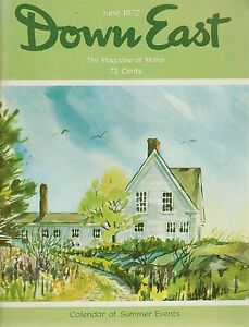 Details about Down East Maine Magazine 1972 June  Cushing/Newfield/Bowdoin/Burying Island