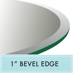 Image Is Loading 30 034 Inch Round Tempered Glass Table Top