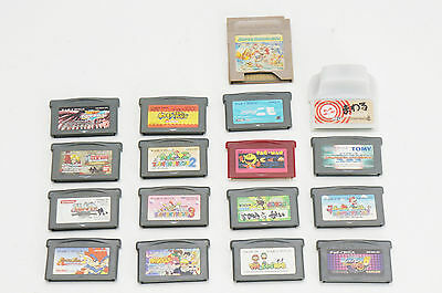 GgameBoy Advanced Game Casette Set 17pc Mario Pokemon etc 422e10