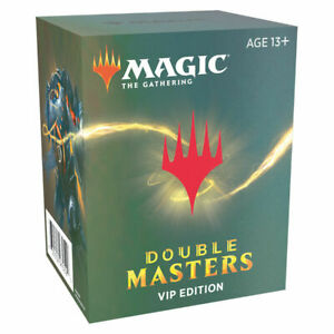 Double Masters VIP Edition Box Sealed MTG Magic the Gathering 2020 Preorder