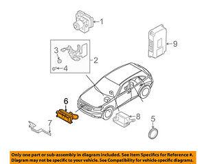 [DIAGRAM_1JK]  Infiniti Nissan OEM 2008 FX45 sistema de control de crucero - 284378Y80A  Sensor a distancia | eBay | Infiniti Cruise Control Diagram |  | eBay