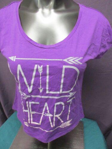 XL Womens Fifth Sun Wild Heart Shirt New S