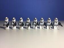 SW218 Lego Republic Attack Cruiser Clone Gunner Trooper /& Weapons 8039 8014 NEW