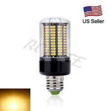E27 12W 132 LEDs 5736 SMD LED Corn Bulb Light Lamp 1200LM AC 85-265V Warm White