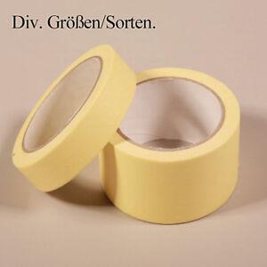 Malerkrepp-Kreppband-Abklebeband-50-mm-Gelb-Abdeckband-Malerbedarf-Maler-Band
