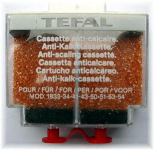 TEFAL Anti Kalk Kassette Modell 1713.30 Antikalk Kalkkartusche Kalkkassette