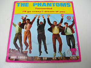 The-Phantoms-Tormented-Ill-Go-Crazy-RARE-DUTCH-BEAT-7-VINYL-MAXI-SINGLE