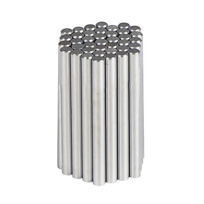 D1//4x4 Tungsten Carbide Round Rod Polished,Inch YK20 5Pcs//Set Precision Ground