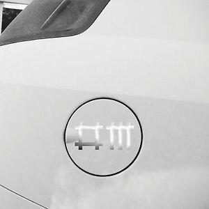 2 Sticker 9cm Chrome Chopsticks Symbol Tattoo Car Rear Decor Film Depeche Mode