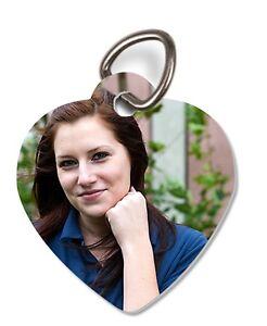 Schlüsselanhän<wbr/>ger bedruckt mit deinem eigenen Foto verschiedene Formen