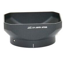 JJC LH-J48 Black Lens Hood repl LH-48 for Olympus M.ZUIKO DIGITAL ED 12mm 1:2_US