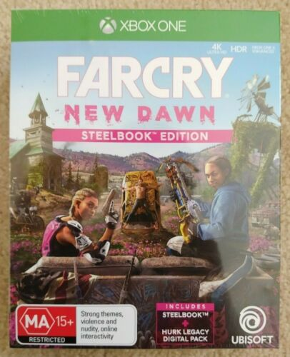 New and Sealed Farcry New Dawn Steelbook Edition Xbox One Game