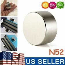 Round N52 Large Neodymium Rare Earth Magnet Big Super Strong Huge Size 40mm20mm