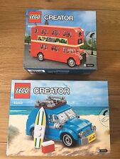LEGO 40220 LONDON BUS SET + 40252 MINI VW BEETLE SET BRAND NEW SEALED CREATOR