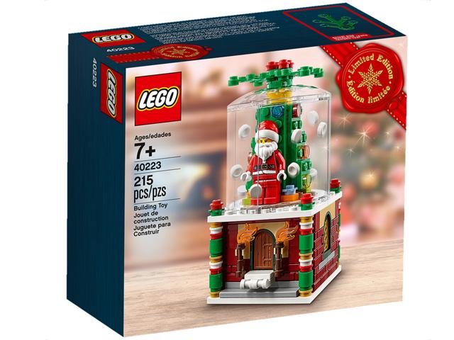 Lego City 40223 Globo / Palla di Neve Nuovo Raro Limited Natale 2016