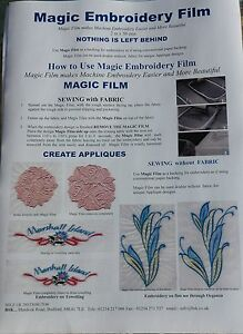Magic-Embroidery-Film-backing-for-embroidery-2mtr-x-50cms-Trial-Size-A815