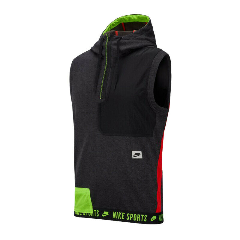 Sleeveless shirt nike therma hooded  sleeveless px 010 l jersey  promotions