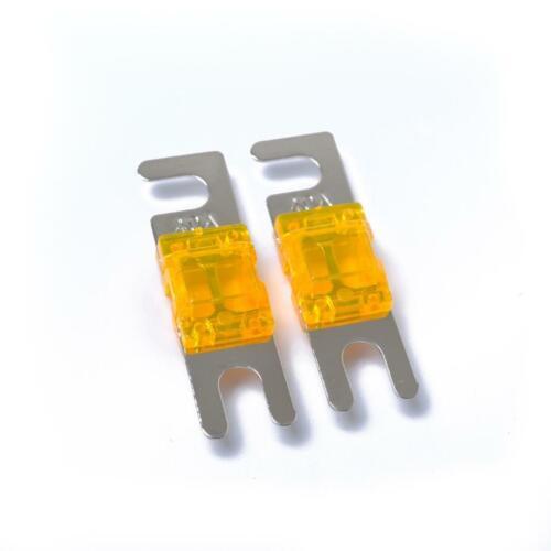Ersatz Mini Anl Bolzen Gabel Sicherung Kit Auto Audio-Leistungsschalter 40A
