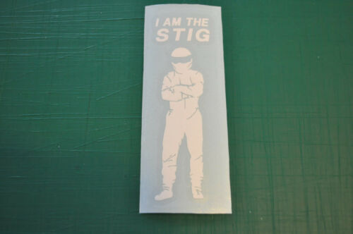 STICKER STIG TOP GEAR Jeremy Clarkson James May Richard Ha PETIT MODELE 3x10cm