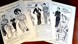 Vintage-mode Für Kinder GüNstig Einkaufen 3 Rare Franz Original 50erj Schnittmuster Patron Damen Kleider 44 2019 New Fashion Style Online