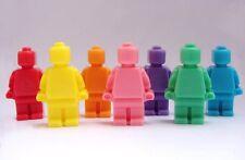 Lego Men Soap Set ~Kids - Favors - Birthday - Parties - Bath Decor ~ 8 Soaps ~