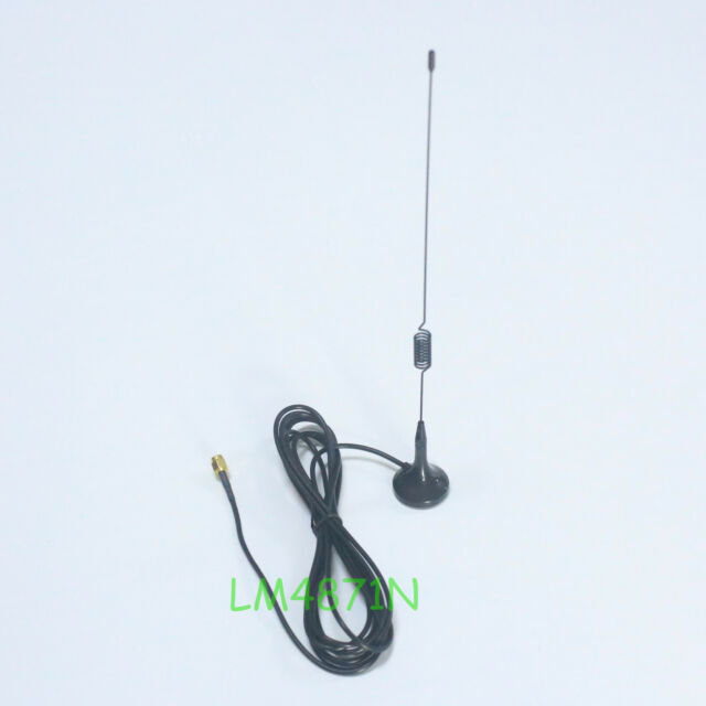 SMA-Male UHF/VHF Car Mobile Antenna for Yaesu VX-3R VX-5R VX-7R 985 FT-60R 102UV
