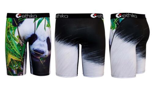 Ethika The Staple Noir /& Blanc Panda arbres long boxer neuf sans Original balises MNS