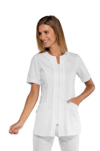 019400m Isacco Aruba Bianco Cappotto Estetista Parrucchiera Largo Largo Camicia Cod Donna 0v8Xqqx