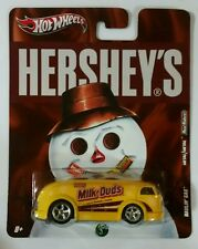 Hot Wheels Hershey's Nostalgia Pop Culture Milk Duds Haulin' Gas Fast Ship!!!