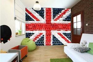 Image Is Loading UK Union Jack British Flag PHOTO WALLPAPER WALL