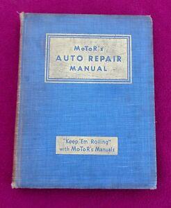 1935-1946 MOTOR'S AUTO REPAIR MANUAL VERY COOL