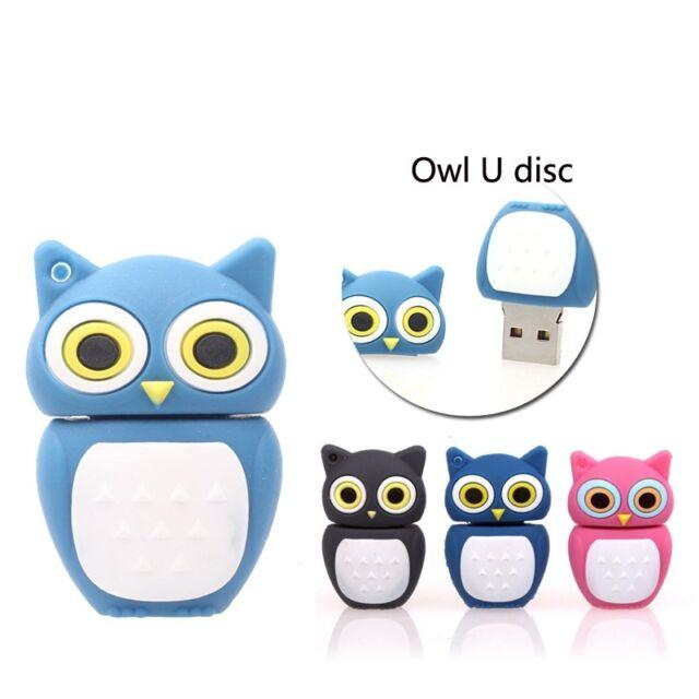 Cartoon owl model USB 2.0 Memory Stick Flash pen Drive 4GB 8GB 16GB 32GB USB275