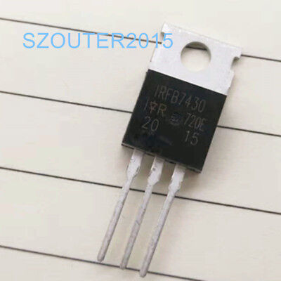 5PCS IRLB3034PBF IRLB3034 HEXFET Power MOSFET TO-220 NEW T56