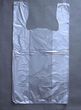 Item 1 Plastic T Shirt Bags With Handles You Pick Lot Colors Size