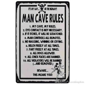 Man-cave-rules-Funny-Tin-Sign-Bar-Garage-signTSC190